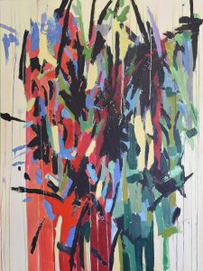Deconstructed-Flowerbed-oil-on-canvas-36-x-48